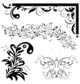 natural patterns butterfly leaf vector image