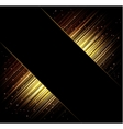 Abstract frame background Rays of light vector image