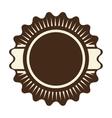 seal stamp icon label design graphic vector image