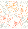 flower pattern light vector image