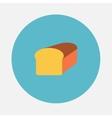 Bread icon vector image vector image