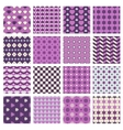 patterns with flowers and hearts vector image