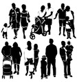 family group vector image