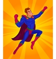 a superman vector image