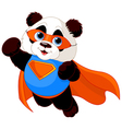 Super Panda vector image