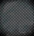 diamond metal background vector image