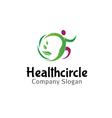 Health Circle Design vector image