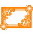 spiral frame vector image