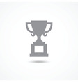 Champions cup icon vector image
