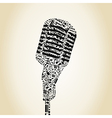 Microphone6 vector image
