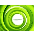 Business ecology swirl concept vector image