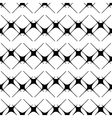 Star black seamless pattern vector image