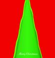 creativity christmas tree vector image