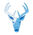 deer antlers animal wildlife image vector image