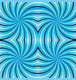 psychedelic spiral vector image