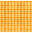 Checkered seamless background vector image vector image