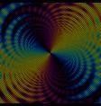 Abstract polka dot background vector image