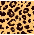 Leopard print pattern Repeating background vector image