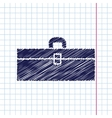 color flat toolkit icon vector image