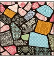 000 cracked mosaic vector image vector image