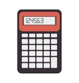 calculator math numbers vector image