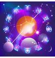 Horoscope circle vector image