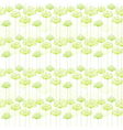 Springtime Dandelion Seamless Pattern vector image vector image