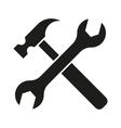 hammer turnscrew tools icon vector image