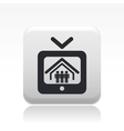 reality icon vector image vector image