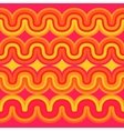 geometric seamless abstract sunset pattern vector image