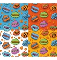 Seamless Popart Pattern vector image vector image