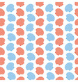 Shellfish Scallops Seamless Texture vector image