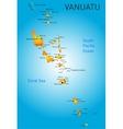 Vanuatu vector image