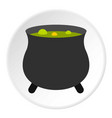 boiler sorcerer icon circle vector image