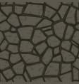 cartoon gray stone seamless background texture vector image