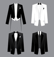 mens dress code vector image vector image