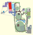Landscaping Area vector image