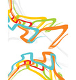 Multicolor abstraction in style graffiti vector image