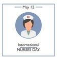 International Nurses Day vector image