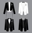 mens dress code vector image