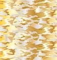 metallic camouflage vector image