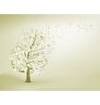 Abstract elegant tree EPS 8 vector image
