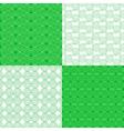set of ethnic tribal geometric patterns vector image