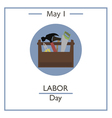 Labor Day vector image vector image
