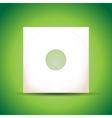 Vinyl cover vector image vector image