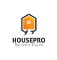 House Pro Design vector image