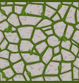 cartoon gray stone seamless background texture vector image