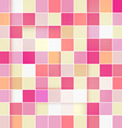 Retro Pink Pastel Square Background vector image