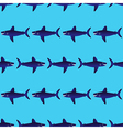 Shark pattern vector image