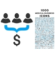 Sales Filter Icon with 1000 Medical Business Icons vector image